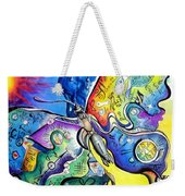 Butterfly 01. Science And Its Progress  Weekender Tote Bag