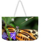 Butterfly 2 Eucides Isabella Weekender Tote Bag