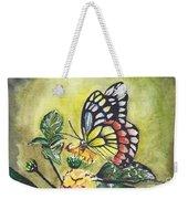 Butterfly 2 Weekender Tote Bag