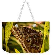Butterfly 25 Weekender Tote Bag