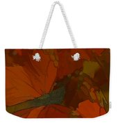 Butterfly Abstract Weekender Tote Bag