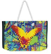 Butterfly All Aglow Weekender Tote Bag