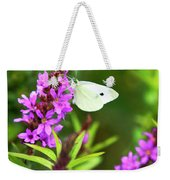Butterfly And Bouquet Weekender Tote Bag