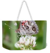 Butterfly And Bugs On Clover Weekender Tote Bag