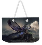 Butterfly And Caterpillar Weekender Tote Bag