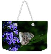Butterfly And Flower Weekender Tote Bag