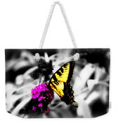 Butterfly And Lilac Weekender Tote Bag
