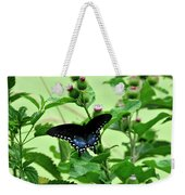 Butterfly And Mossy Pond Weekender Tote Bag