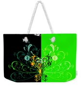 Butterfly And Ornament Weekender Tote Bag