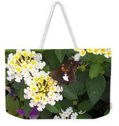 Butterfly And The Spider Weekender Tote Bag