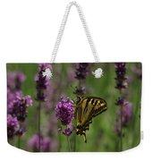 Butterfly Balancing Act Weekender Tote Bag