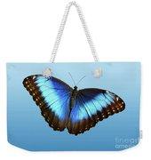Blue Morpho Beauty Weekender Tote Bag