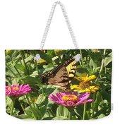 Butterfly Breakfast Weekender Tote Bag