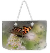 Butterfly Bubbles Weekender Tote Bag