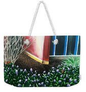 Butterfly Bush Weekender Tote Bag
