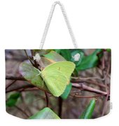 Butterfly Camouflage Weekender Tote Bag