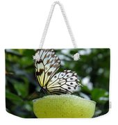 Butterfly Cocktail Time Weekender Tote Bag