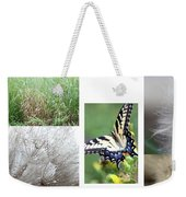 Butterfly Collage  Weekender Tote Bag