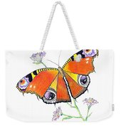 Butterfly Dressed For A Masquerade Ball Weekender Tote Bag