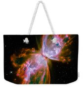 Butterfly Emerges From Stellar Demise Weekender Tote Bag
