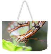 Butterfly Face Weekender Tote Bag