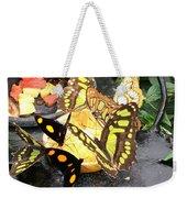 Butterfly Feast  Weekender Tote Bag