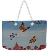 Butterfly Field Weekender Tote Bag
