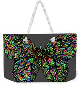 Butterfly Good And Bad  Weekender Tote Bag