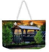 Butterfly House At Sunset Weekender Tote Bag