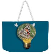 Butterfly In A Bulb II Weekender Tote Bag by Shane Bechler