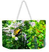 Butterfly In A Garden Weekender Tote Bag