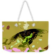 Butterfly In Color Weekender Tote Bag