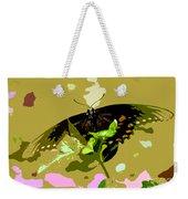 Butterfly In Color Weekender Tote Bag