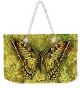 Butterfly In Golds-amber Collection Weekender Tote Bag