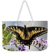 Butterfly In My Garden Weekender Tote Bag