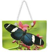 butterfly in Square Weekender Tote Bag