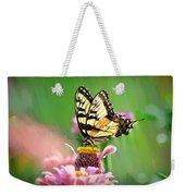 Butterfly In Summer Weekender Tote Bag