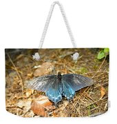 Butterfly In The Forest Weekender Tote Bag