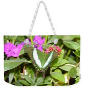 Butterfly In The Garden Weekender Tote Bag