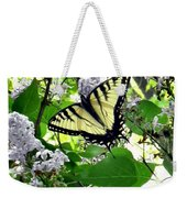 Butterfly In The Lilac No. 1 Weekender Tote Bag