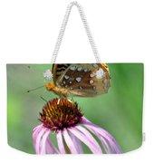 Butterfly In The Wind Weekender Tote Bag