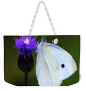 Butterfly In White Weekender Tote Bag