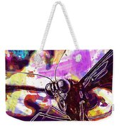 Butterfly Insect Eyes Probe  Weekender Tote Bag