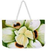 African Butterfly Iris Weekender Tote Bag