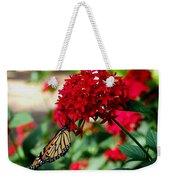 Butterfly Kiss Weekender Tote Bag