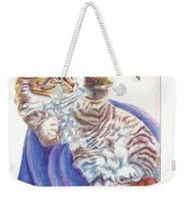 Butterfly Kitten Weekender Tote Bag