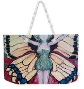 Butterfly Lady Weekender Tote Bag