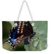Butterfly Laying Eggs Weekender Tote Bag
