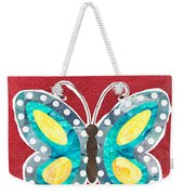 Butterfly Liberty Weekender Tote Bag