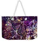 Butterfly Monarch Flower  Weekender Tote Bag
